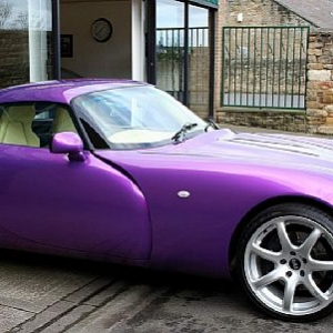 TVR T350 Exterior