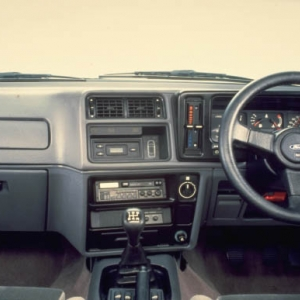 Ford Sierra RS Cosworth Interior