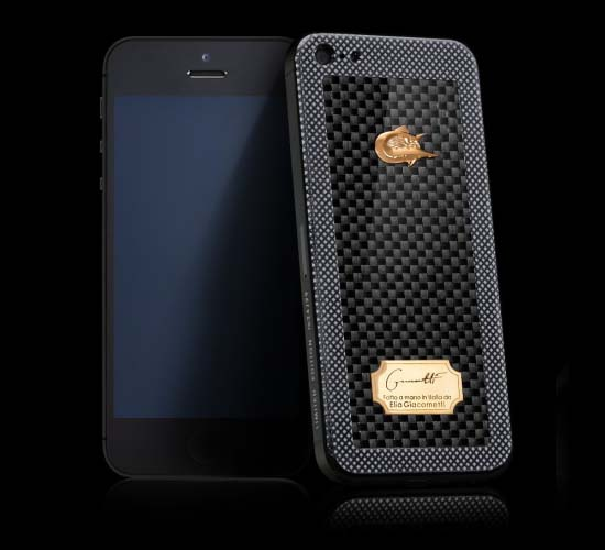 CAVIAR iPhone 5 Titano Diabolo by Elijah Giacometti is created in cooperation with Automobili Lamborghini S.p.A.