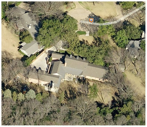 photo: house/residence of friendly weird  35 million earning Dallas, Texas, USA-resident