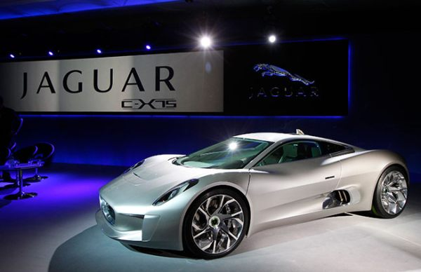 Jaguar puts its £900,000 C-X75 hybrid supercar into production